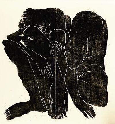 Barbara Kuebel, 'Touching one side downside', 2019