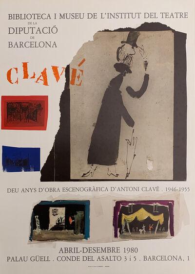 Antoni Clavé, 'Deu anys d'obra escenogràfica ', 1980