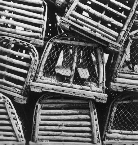 Ralston Crawford, 'Lobster Pots, Croix-de-Vie', 1957