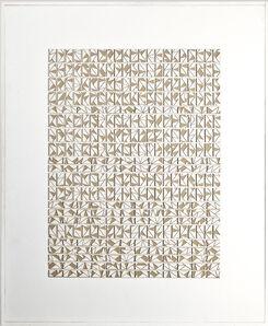 Felipe Gayo, 'Ecriture', ca. 2007