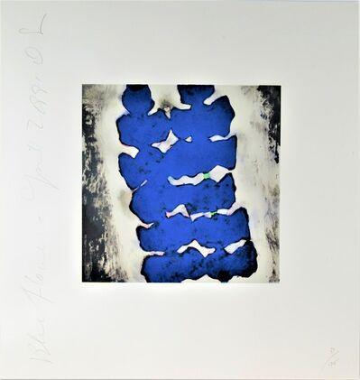 Donald Sultan, 'Blue Flower', 1991