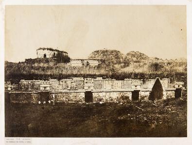 Claude Joseph Désiré Charnay, 'Vue Générale des Ruines à Uxmal, Mexique, Pl. 49', ca. 1860