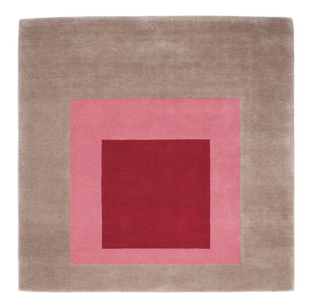 Josef Albers, 'Homage to the Square: Equivocal (Rug) ', 2018