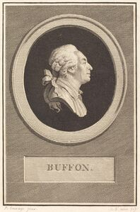 Augustin de Saint-Aubin after Piat Joseph Sauvage, 'Buffon', 1798
