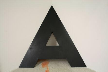 Josef Bauer, 'A in the corner', 1968-1976
