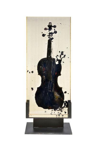 Arman, 'Inclusion Violin - Brule', 1969
