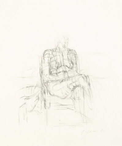 Bruno Gironcoli, 'Nude', 1962