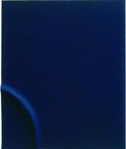 Agostino Bonalumi, 'Spartito minimo nero', 1998