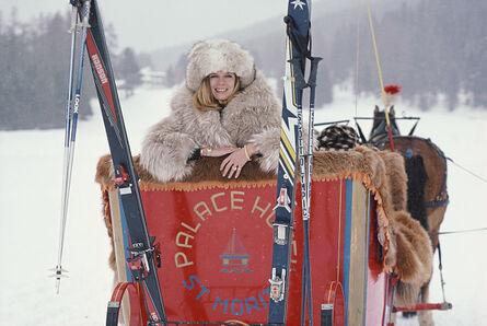 Slim Aarons, 'Skiing In St. Moritz', 1983