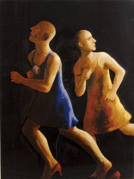 John Kirby, 'Men Running', 1994