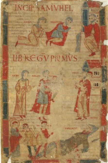 'Four Scenes from the First Book of Samuel', late 11th century