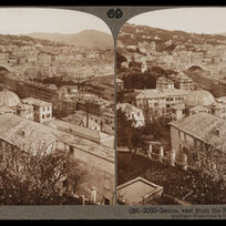 Bert Underwood, 'Genoa, east from the Rosazza Gardens', 1900