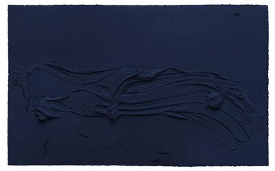 Jason Martin, 'Untitled Prussian Blue', 2014