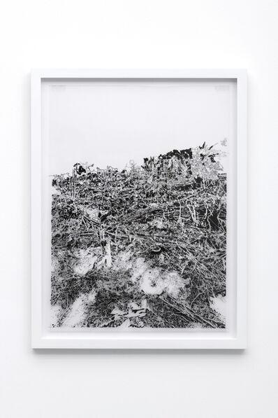 Francesca Gabbiani, 'Vague Terrain (drawing)', 2016-2017