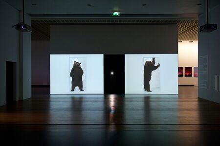 Marijke van Warmerdam, 'Beer, two 16 mm film loops', 1997