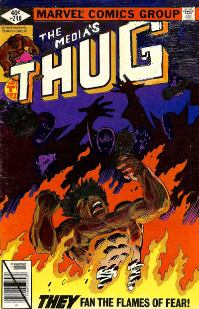 Kumasi Barnett, 'The Thug #240  They Fan the Flames of Fear', 2015