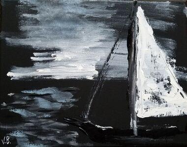 Vian Borchert, 'Night Sailing', 2019