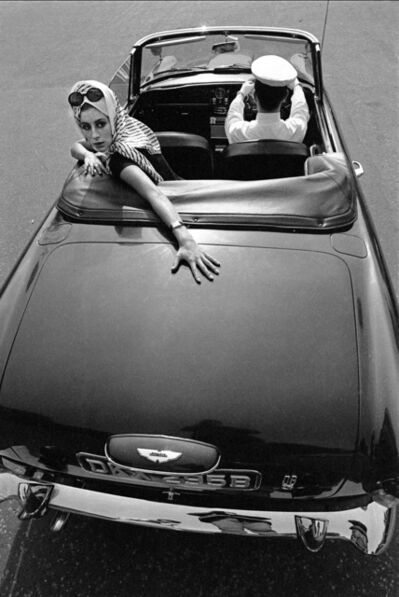 Brian Duffy, 'Girl over Car Boot, Town Magazine', 1965