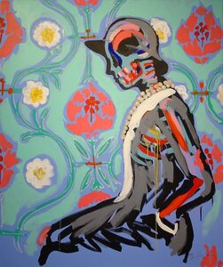 Bradley Theodore, 'Coco in Flowers', 2016