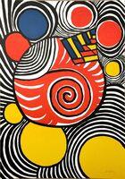 Alexander Calder, 'Spirales et pyramides', 1970