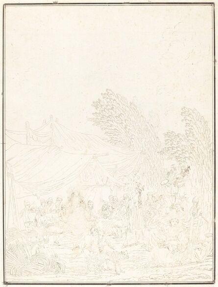 Charles-Melchior Descourtis after Nicolas Antoine Taunay, 'Noce de Village (Village Wedding)', 1785