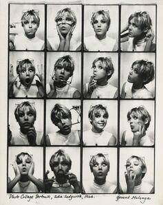 Gerard Malanga, 'Photo Collage Portrait, Edie Sedgewick', 1966