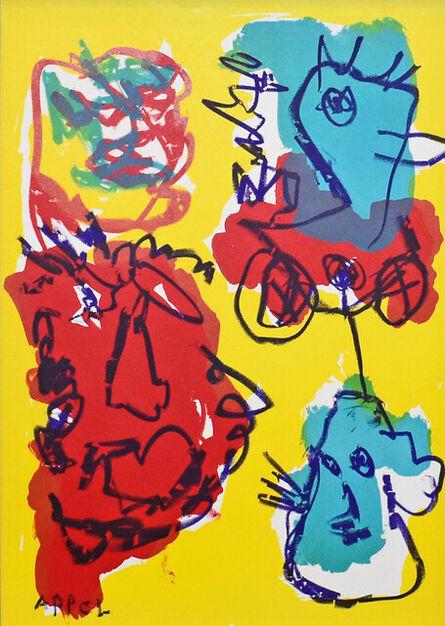 Karel Appel, '1 Cent Life', 1964