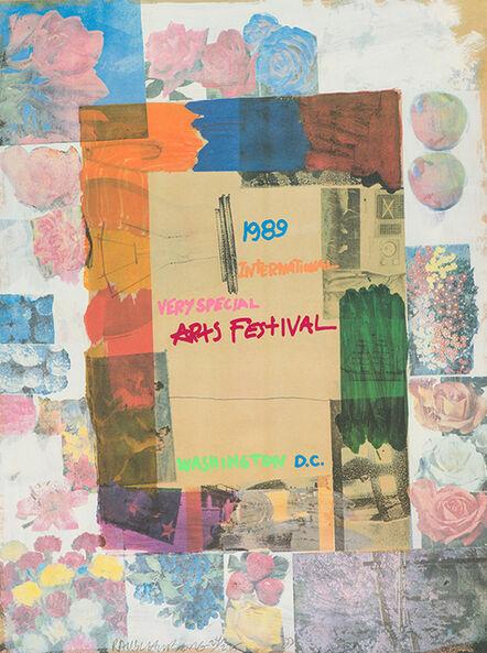 Robert Rauschenberg, 'International Very Special Art Festival, Washington D.C.', 1989