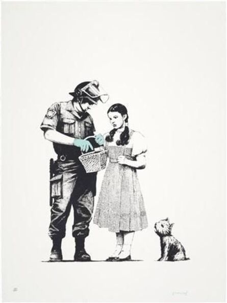 Banksy, 'Stop & Search', 2007