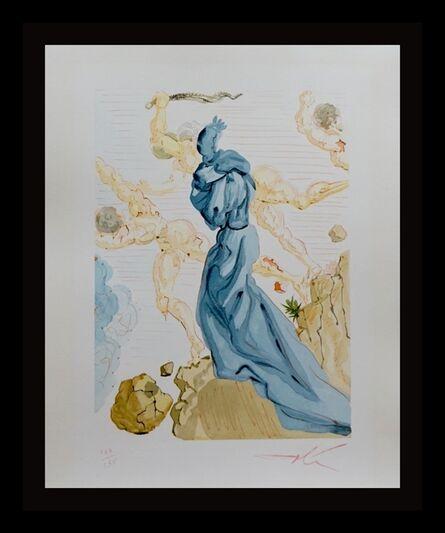 Salvador Dalí, 'Divine Comedy Hell Canto 19', ca. 1960