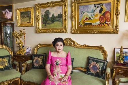 Lauren Greenfield, 'Imelda Marcos, 84, in her apartment, Manila, Philippines', 2014