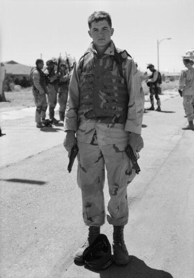 An-My Lê, 'Corporal Hoepper, 29 Palms', 2004