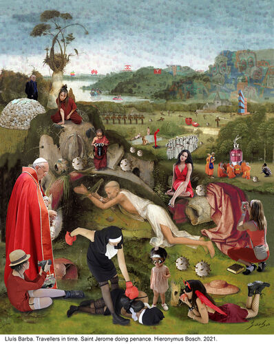 Lluis Barba, 'Saint Jerome doing penance ', 2021