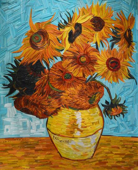 Kyu-Hak Lee, 'Monument: Van Gogh Sunflowers', 2019