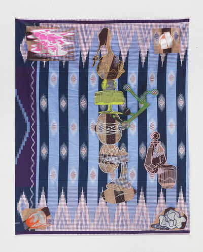 Teppei Kaneuji, 'Games, Dance and the Constructions (Cloth) #1', 2014