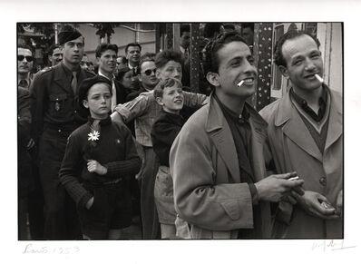 Marc Riboud, 'Foire du trone, Paris.', 1953