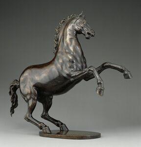 Adriaen de Vries, 'Rearing Horse', 1605-1610
