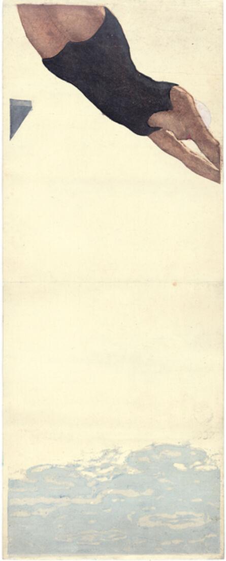 Koshiro Onchi, 'Diving', 1932