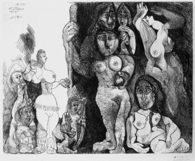 Pablo Picasso, 'Le théatre de Picasso: Eros et les femmes', 1970