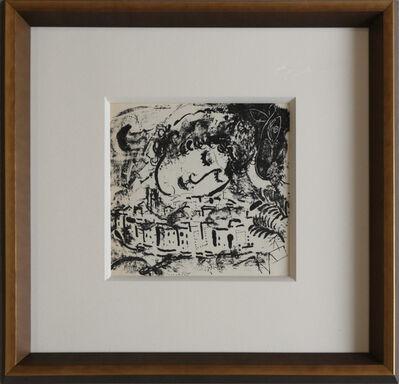 Marc Chagall, 'Le village Paris', 1957