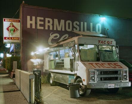 Jim Dow, 'Taco Truck Outside a Club, Highland Park, Los Angeles, California', 2009
