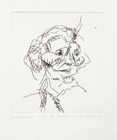 Frank Auerbach, 'Gerda Boehm', 1981