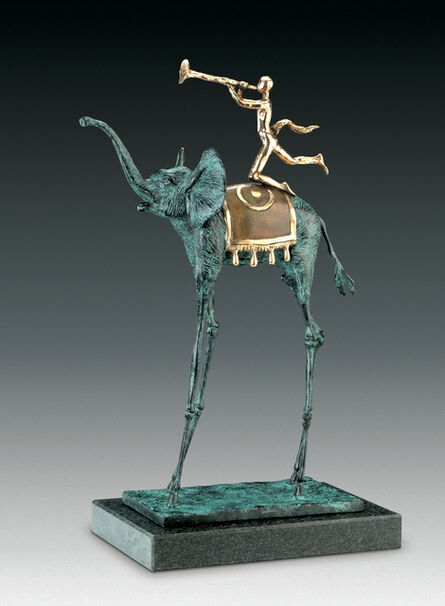 Salvador Dalí, 'Triumphant Elephant', Conceived in 1975-First Cast in 1984