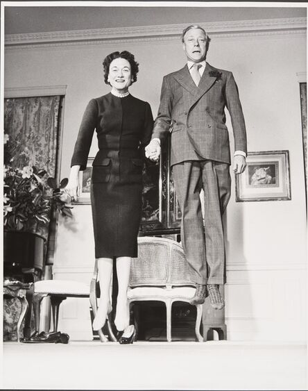 Philippe Halsman, 'Duc et Duchesse de Windsor (Duke and Duchess of Windsor)', 1956