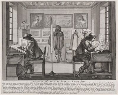 Abraham Bosse, 'Engravers', 1642