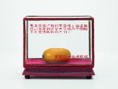 'Rectangular glass display case  ', 1968