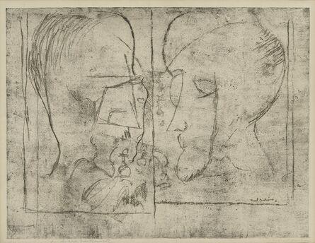 Marcel Duchamp, 'The Chess Players (Schwartz 621)', 1965