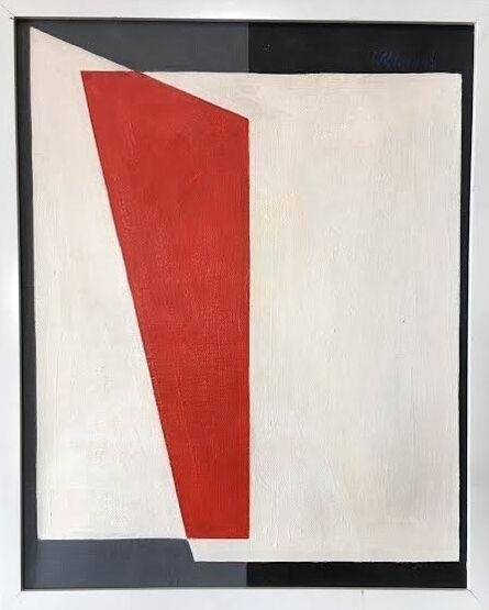 Jorge Riveros, 'Construcción en Rojo', 1976