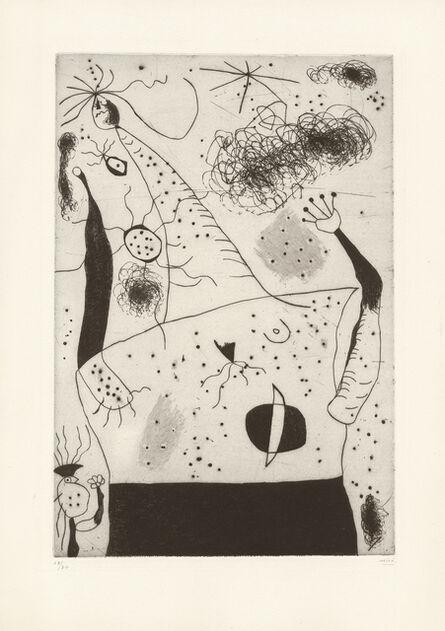 Joan Miró, 'La géante', 1938