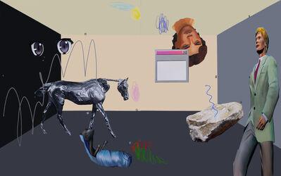 Loribelle Spirovski, 'Year of the Horse (diptych)', 2021